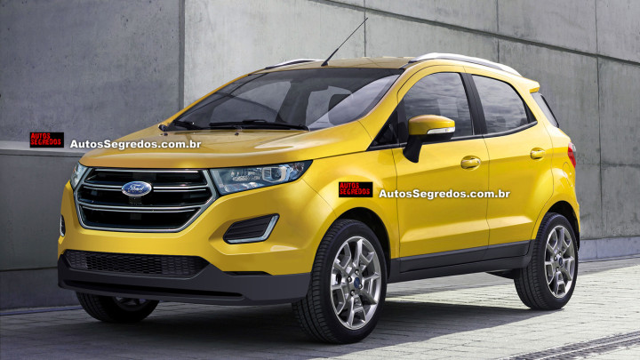 2017 Ford EcoSport spied