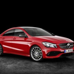 2017 Mercedes CLA Facelift unveiled