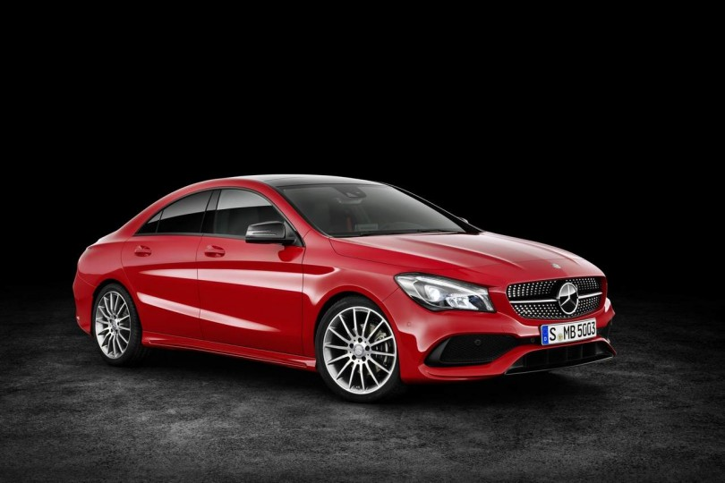2017 Mercedes CLA revealed