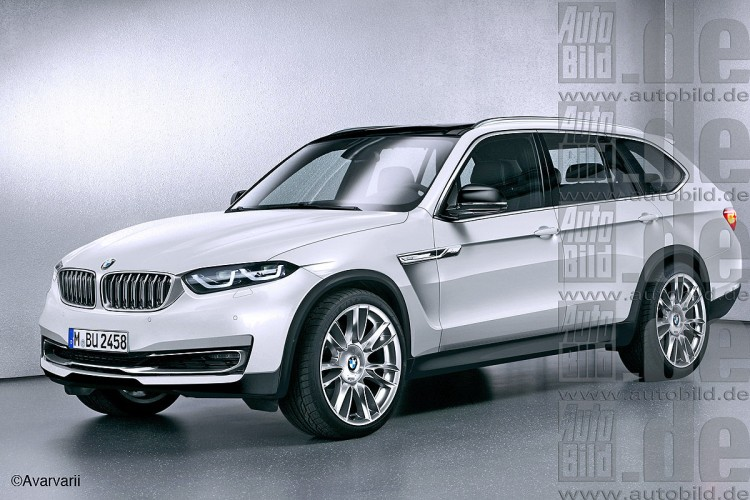 BMW X7 Unveil