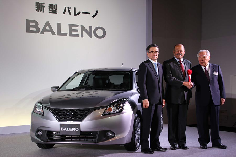 Maruti Baleno launched in Japan