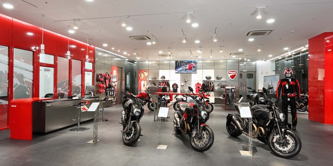 Ducati Pune Showroom