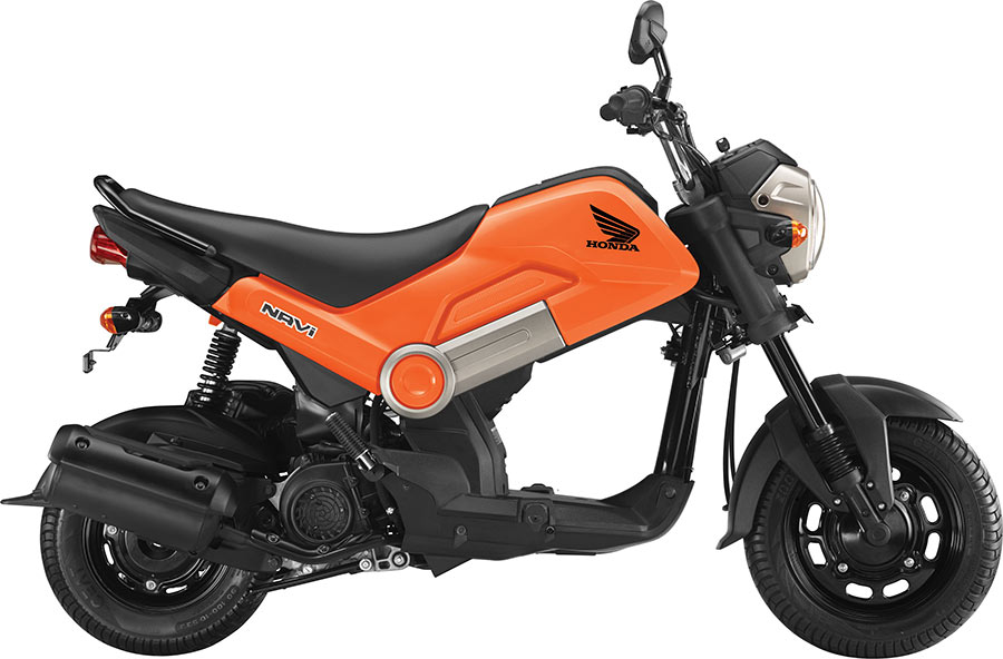 Honda Navi in Orange Color