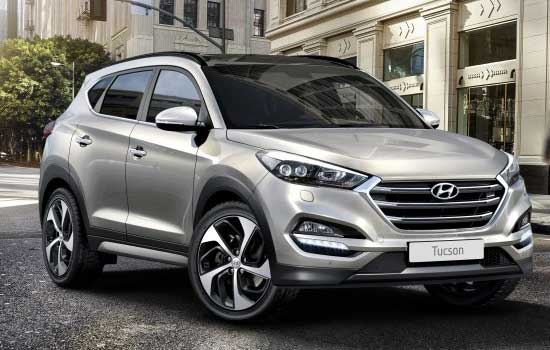 Hyundai Tucson SUV in India