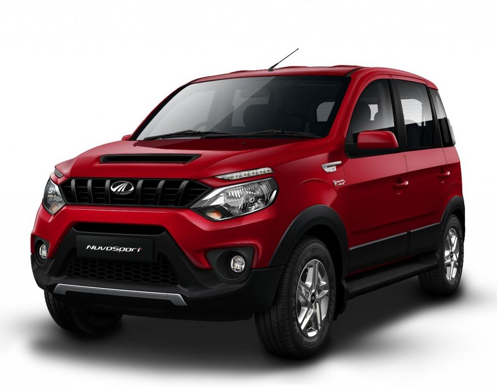 Mahindra NuvoSport SUV 1