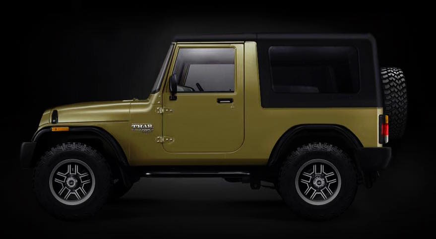 This Is How The Next Gen Mahindra Thar Looks Like