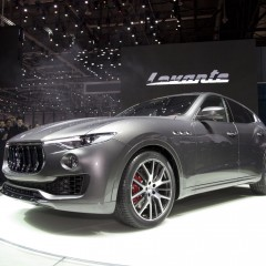 Maserati Levante Debuts at the Geneva Motor Show