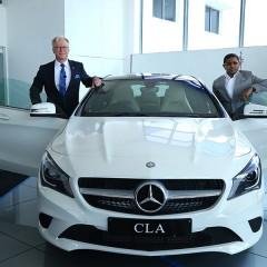 Mercedes-Benz inagurates its first 3S dealership in Vijayawada