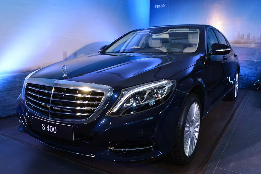 Mercedes Benz S400 launched in India