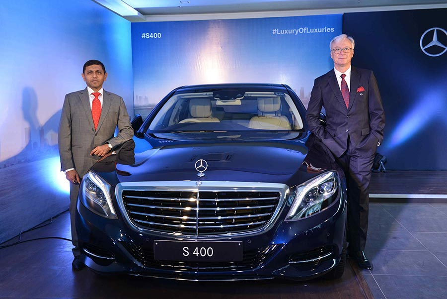 Mercedes Benz S400 launch in India