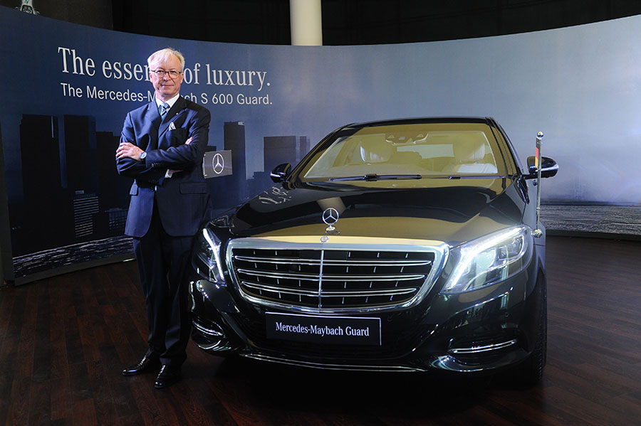 Mr.-Roland-Folger,-Managing-Director-&-CEO,-Mercedes-Benz-India-at-the-launch-of-Mercedes-Maybach-S600-Guard