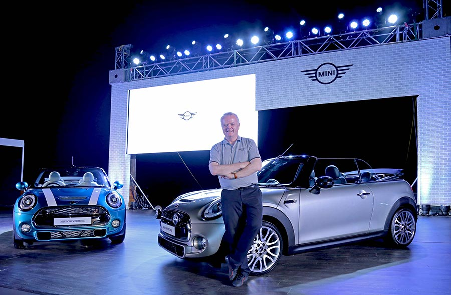 New Mini Convertible launched in India