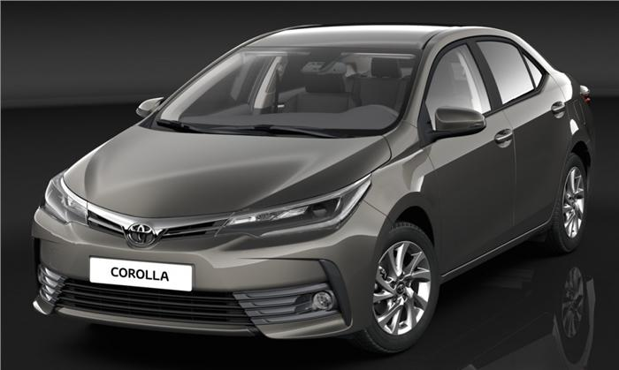 2017 Toyota Corolla Altis facelift has been revealed