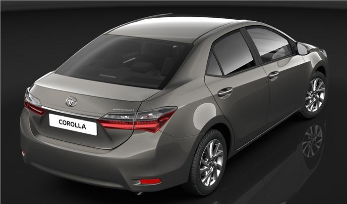 Toyota Corolla Altis Facelift Revealed