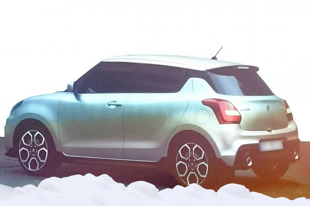 2017 Suzuki Swift Leaked Gets New Exterior And Interior Designs