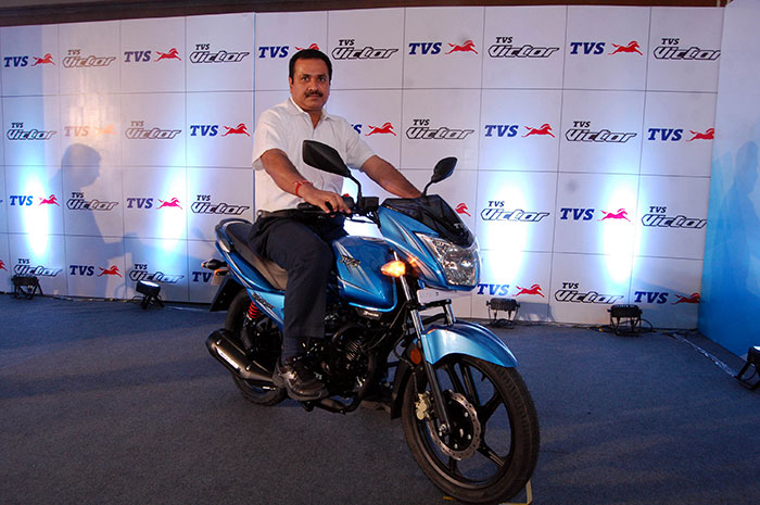 TVS Victor launch in Uttar Pradesh