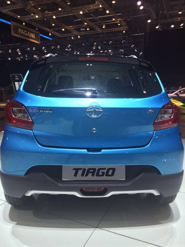 Tata Tiago rear view