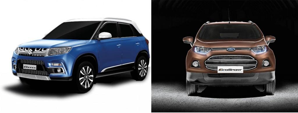 Maruti Vitara Brezza vs Ford EcoSport