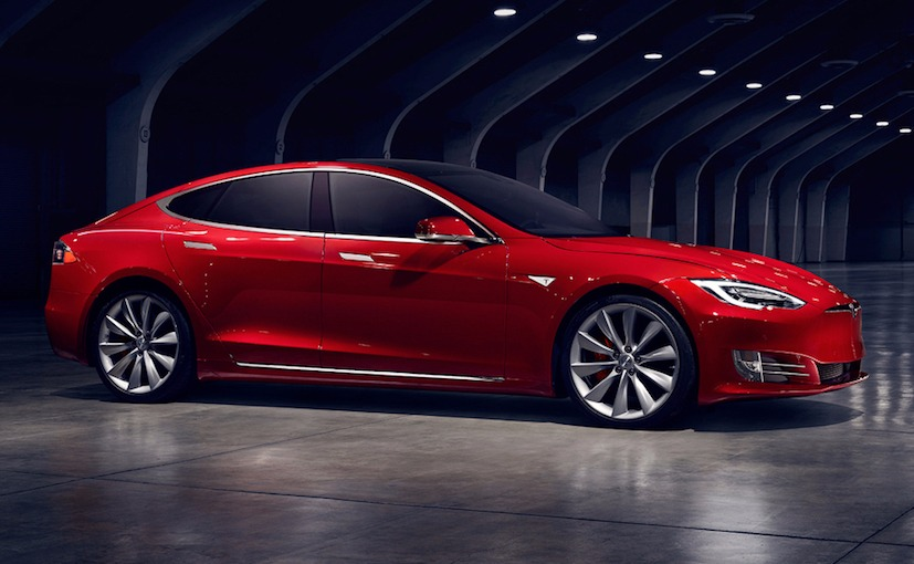 Tesla Model S Facelift Rendering