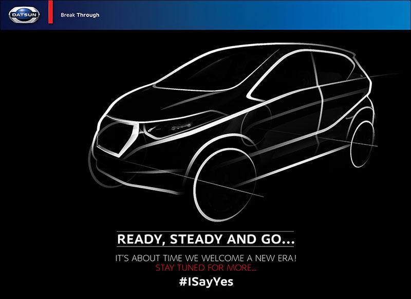 Datsun Redi-GO Teaser in India