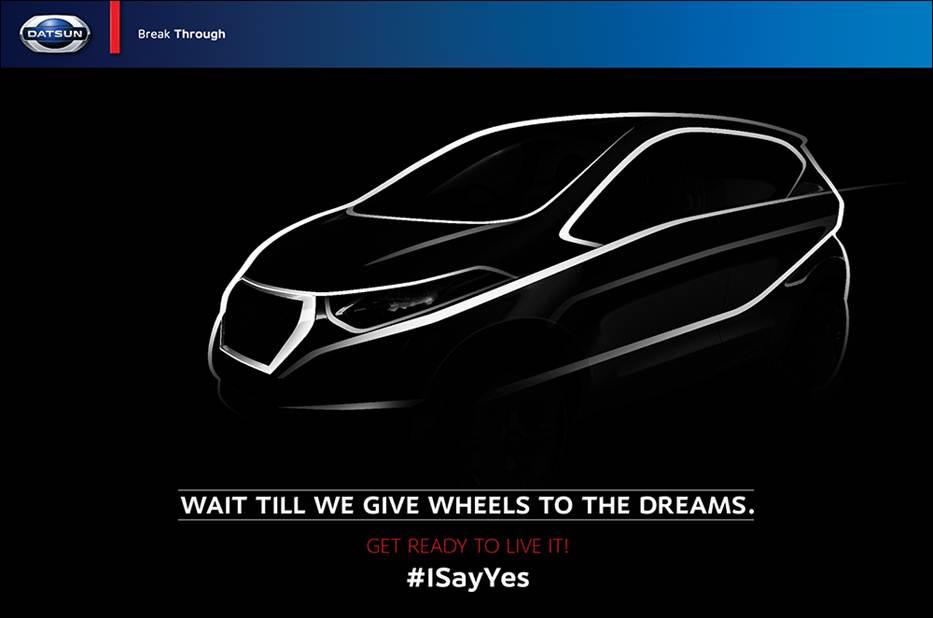 Datsun Redi-GO launch in India on April 14th.