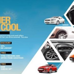 Fiat offers Cool discounts and Free check-up for this Summer