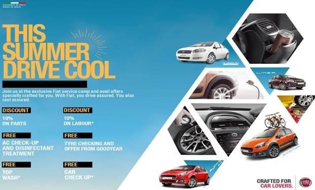 Fiat Drive Cool Camp