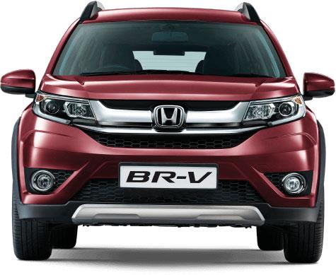 Honda BR-V Carnelian Red Pearl Color