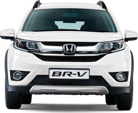 Honda BR-V Taffeta White Color