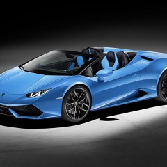 Lamborghini Huracan Spyder launch in India on May 5