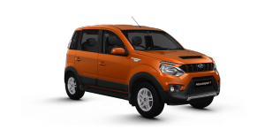 Mahindra NuvoSport Orange color
