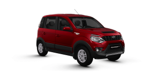 Mahindra NuvoSport Red Color
