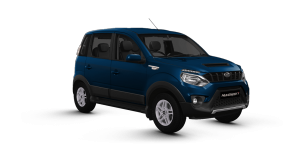 New Mahindra NuvoSport in Blue color