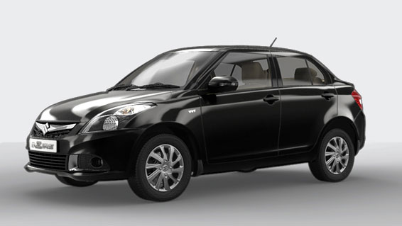 Maruti Swift Dzire Cave Black