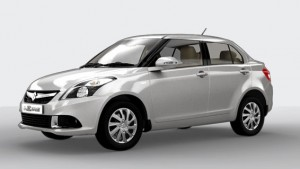 Maruti Swift Dzire Silky Silver Color