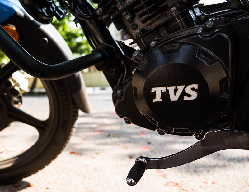 New-TVS-Victor's-4-gears-mated-to-110cc-Engine