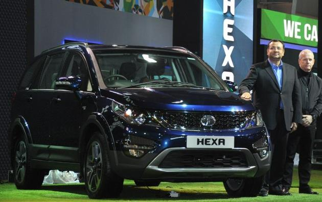 Tata Hexa India launch
