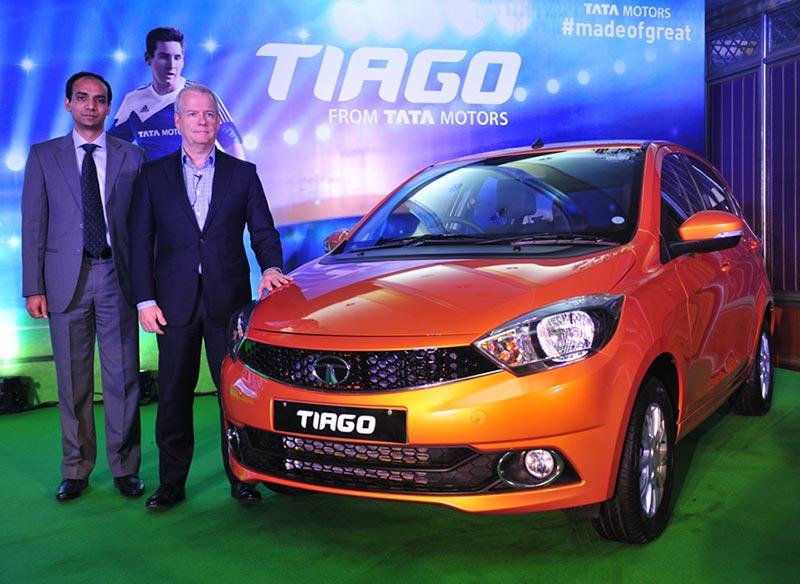 Tata Tiago launch in Bangalore