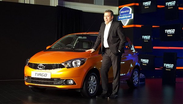 Tata Tiago launch photo