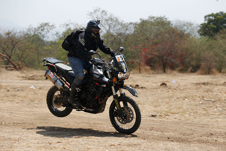 Triumph adventure sport in Pune