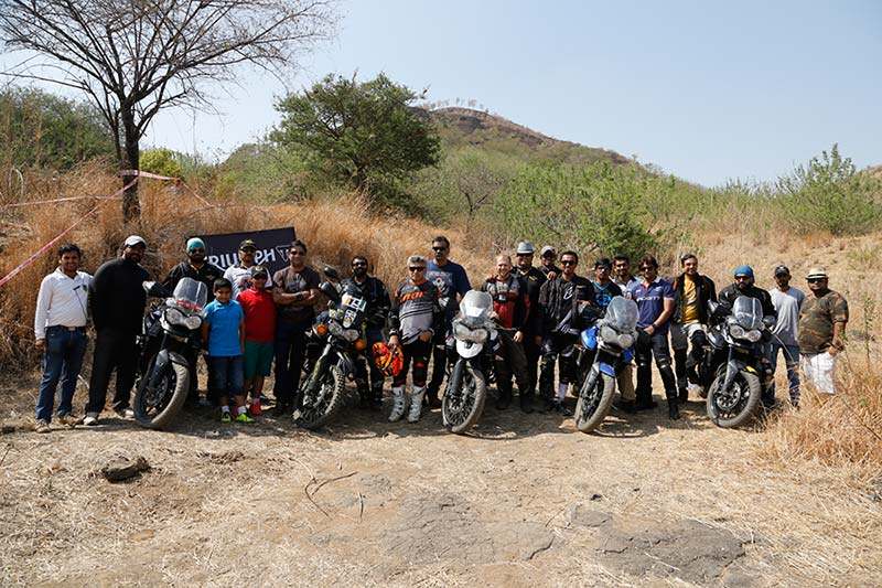Triumph Tiger Training in Pune