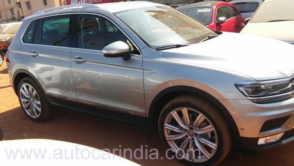 Volkswagen Tiguan SUV Spotted