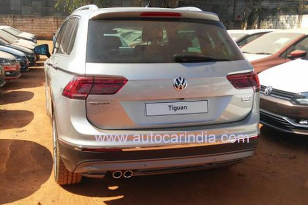 Volkswagen Tiguan SUV spotted in India