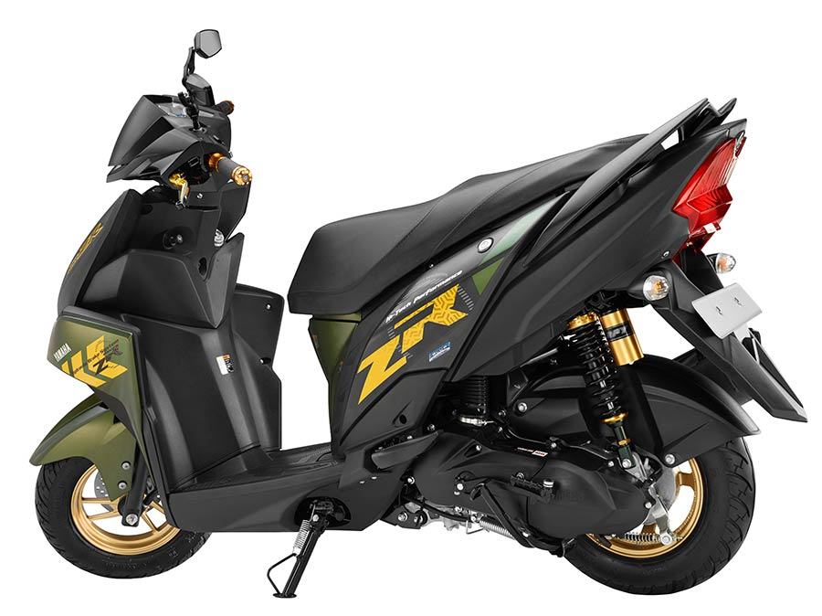 Yamaha's Cygnus Ray ZR available from May in India