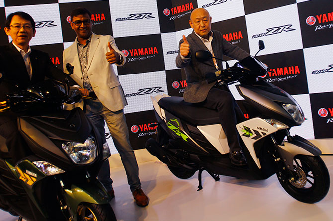 Yamaha Ray ZR India launch