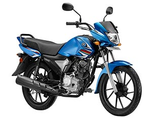 Yamaha Saluto RX Breezy Blue Color