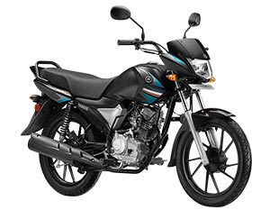 Yamaha Saluto RX Gleaming Black Color