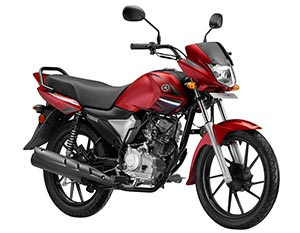 Yamaha Saluto RX Inspiring Red Color