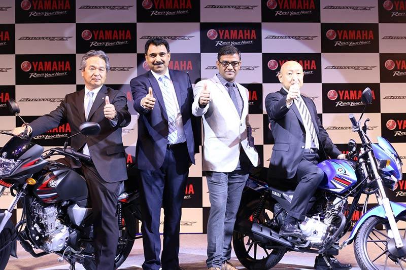 Yamaha Saluto RX launch