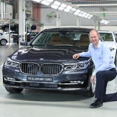 BMW rolls out 50,000th Made-in-India Car from Chennai Plant